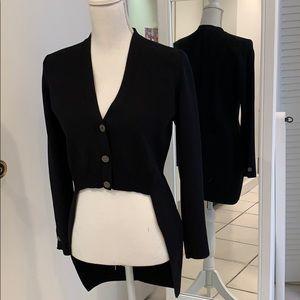 Authentic Chanel new runway tuxedo vest jacket